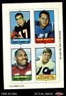 1969 Topps Football Cards 12