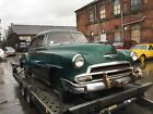 1951 Chevrolet Fleetline deluxe running barn find project American rat hot rod
