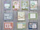 10 Handmade Baby greeting cards envelopes Stampin Up + more