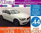 2014 BMW 116D 20 SPORT GOOD BAD CREDIT CAR FINANCE FROM 44 P WK