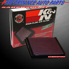 K&N 33-2125 Hi-Flow Air Intake Drop in Filter for Audi Volkswagen *See Detail*