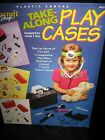 Plastic Canvas Take Along Play Cases Pattern Leaflet Make Up Sewing Tools DR