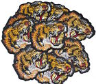LOT X 10 Tiger Supreme Fashion Embroidery Patches Iron On Patch Applique Snake