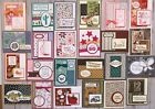 24 Handmade Male Female Kids Birthday cards Stampin Up + more