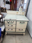 Antique Marlboro Universal Gas stove Pale Yellow and Green