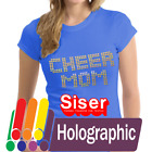 Siser Holographic HTV Heat Transfer Vinyl for T Shirts 20 by 12 Sheets