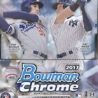 2017 BOWMAN CHROME BASEBALL SEALED HOBBY BOX 2 AUTOS, ROOKIES JUDGE, BELLINGER