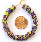 Fine old Venetian matched Banded Antique Millefiori African Glass Trade beads