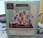 Holder Craft Acrylic Paint Storage Rack Organizer Wire Carousel Revolving New