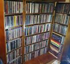 Lot Of 600 CDs 51 Music DVDs Concerts & Videos  RARE OOP Eagles CARS Tom Petty