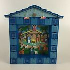Kurt Adler Wooden Christmas Nativity Advent Calendar 14