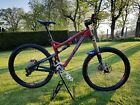 2013 Intense Carbine 275 Red Medium Carbon 650b Enduro Mountain Bike