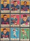 1959 Topps CFL Set Jackson, Parker, Bright Vintage Football Unmarked Checklist