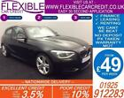 2013 BMW 118D 20 M SPORT GOOD BAD CREDIT CAR FINANCE FROM 49 P WK