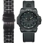 Luminox Men's 3051.BO.SET.2 Navy SEAL Black Rubber and Bracelet Bands 44mm Watch