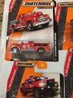 Matchbox On A Mission MBX Heroic Rescue Lot of 10 Vehicles MB2