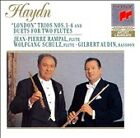 Haydn: Trio.1-4 Duets for two flutes by RAMPAL, JEAN-PIERRE