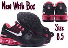Nike Shox Avenue Size 85 black white pink Womens Running Shoes BRAND NEW