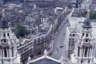 35mm slide Stunning View over London Thames from ST Paul's