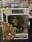 Funko Pop! The Elder Scrolls Morrowind Dwarven Colossus #222 2017 SDCC Exclusive