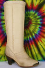 5.5 M vintabe 80s leather ZODIAC knee-high stacked heel fashion riding boots