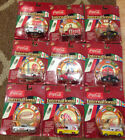 Coca Cola International Johnny Lightning Diecast Cars Collection Lot of 9
