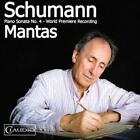 SANTIAGO MANTAS - SCHUMANN:PIANO SONATA NO. 4 (DVD AUDIO) NEW DVD