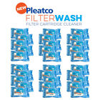 Pleatco Pool Filter Wash Thirty Pack  Cartridge Filter Cleaner 30 Pack