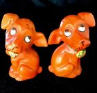 Cute Orange Dogs Salt  Pepper Shakers Everything Must Go