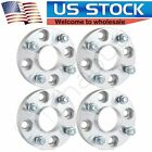 4X 1 25mm 4x1143 4x45 Hubcentric Wheel Spacers For Nissan 300ZX Cube 240SX