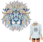 Large Mosaic Lion Patch Iron On Heat Transfer Patch Applique DIY CraftCostume
