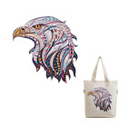Large Mosaic Animal Eagle Patch Iron On Heat Transfer Patch Applique DIY Craft