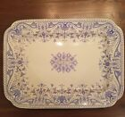 R Boote Tournay Blue Transferware Platter (3 Available)