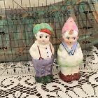 Couple Boy Girl Hats Salt and Pepper Shakers Made in Japan Vintage