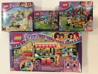 Lego Friends Lot Hot Dog Stand Beach Scooter Andreas Duet  Puppy Pampering