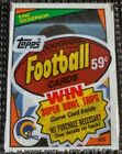 ERIC DICKERSON ROOKIE top 1984 Topps football Cello pack Dan Marino John Elway *
