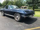 1964 Chevrolet Corvette 1964 Corvette Daytona Blue blue interior with Ivory Leather seats Cold A C