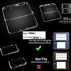 Clear Crystal Protective Hard Shell Case Cover F Nintendo New 3DS XL/3DS/2DS PE