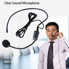 Vocal Wired Headset Microphone microfono For Voice Amplifier Speaker Mike ZQ