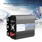 FOVAL 300W Power Inverter Modified Sine Wave 2.4A Dual USB Output Car Charger BR