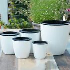 Fashioable Automatic Self Watering Flower Plants Pot Put In Floor Gardening LO