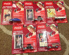 Coca Cola Calendar Girls Series Johnny Lightning Diecast Cars Collection Lot x5
