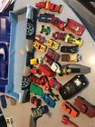 Vintage Matchbox Car Toy Lot With Case