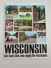 Vitnage Wisconsin Travel magazine brochure- 1960s-color photos 30 pages