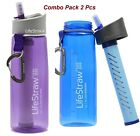 LifeStraw Go - 2 Pack (Blue & Purple) with free shipping and lowest price