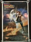 BACK TO THE FUTURE Original Movie Poster 27x40 First Print