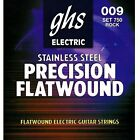 GHS Electric Guitar Strings Flatwound 9 42 750