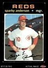Top 10 Sparky Anderson Baseball Cards 13
