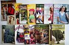 Crochet Books Magazines  Leaflets Lily Chin 12 Popular Pubs Great Variety