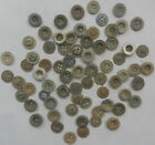 72 pcs GERMANY ww1 BUTTTONs wwI GERMAN Army Soldiers or Officers EUROPE War